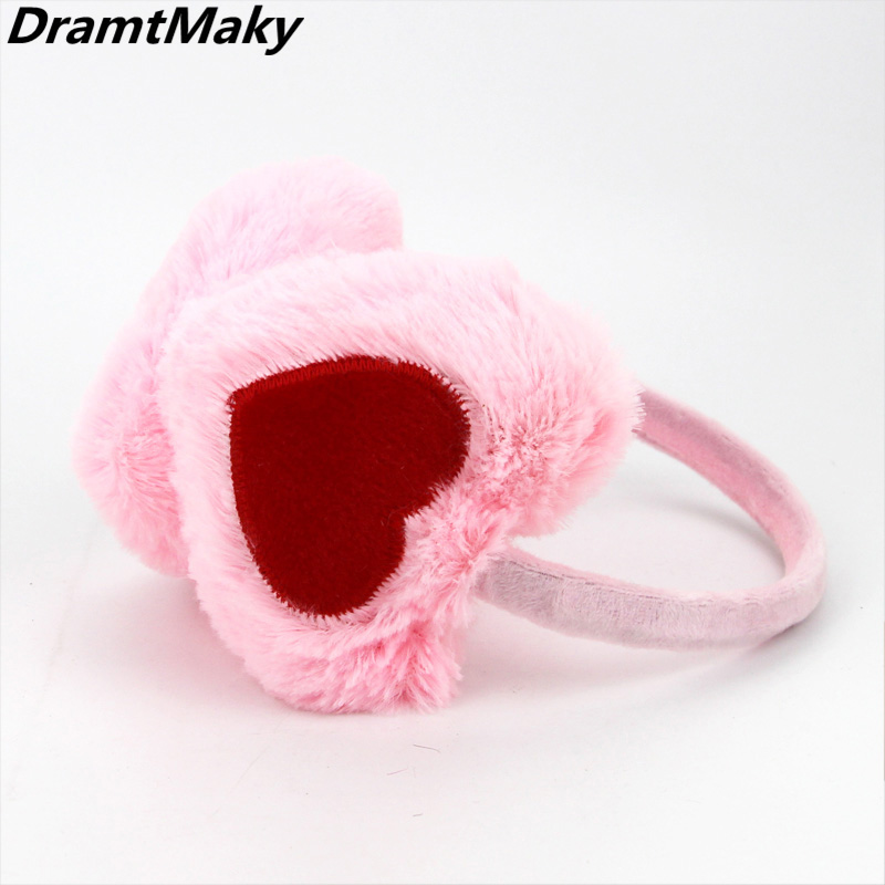 New Elegant Plush Female Winter Earmuff Warm Ear Muffs Headphones Girls Earmuffs  Earphone Ear Warmers Protector Fur Headphones