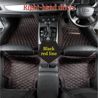 Custom fit автомобильные коврики для Mitsubishi Lancer Galant ASX Pajero sport V73 V93 3D Тюнинг автомобилей любую погоду ковровое покрытие лайнер