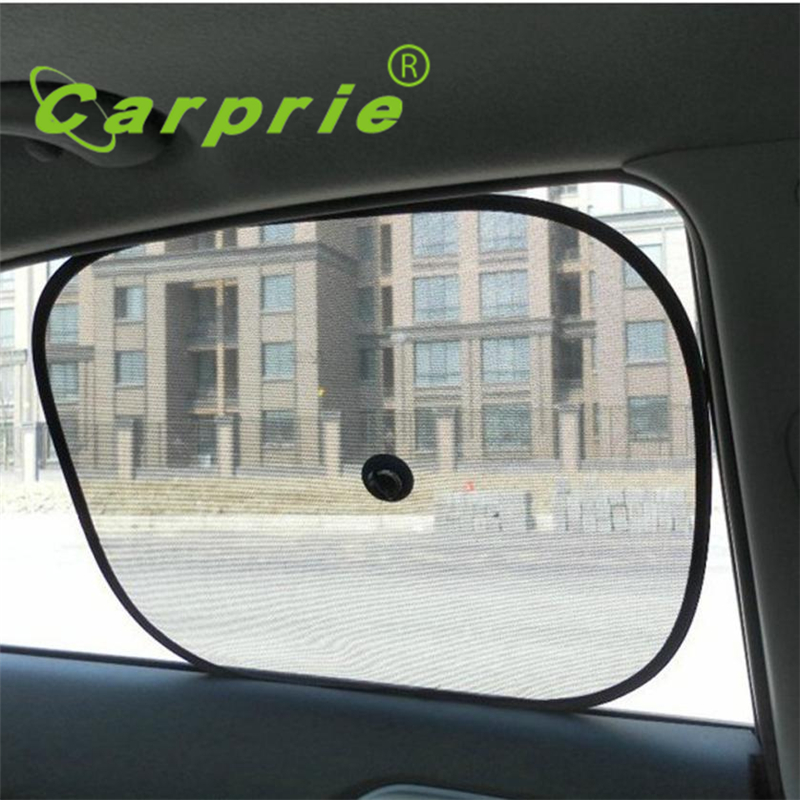 2x black kids baby children car window uv protection blind mesh sun shades twin_kxl0607china