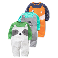 Baby Rompers Boy S Girl S Set Children Clothing Suit Baby Body Suits Kawaii Animal Pattern