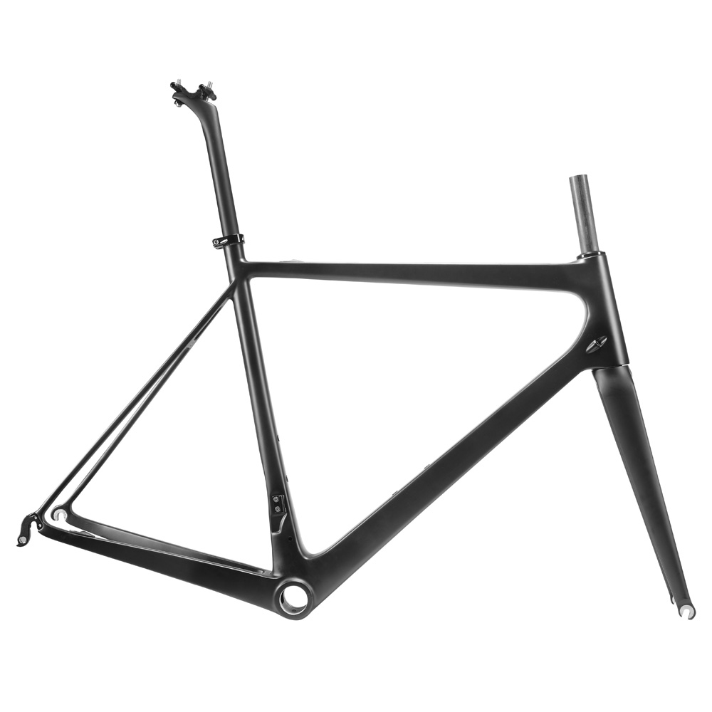 OG-EVKIN Super Light Road Bike Frameset Carbon Fiber UD Matt 2018 Carbon Road Frame Size L BB30 Cycling Bicycle Frame Bike 700C 2018 carbon fiber road bike frames black matt clear coat china racing carbon bicycle frame cycling frameset bsa bb68