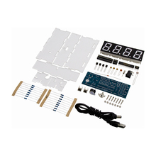 LED Digital Clock DIY Kit