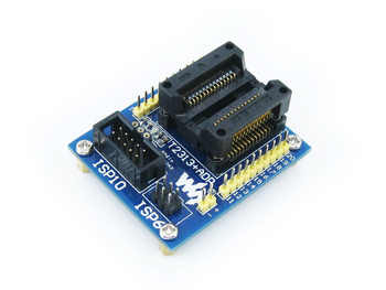ATtiny2313 ATtiny4313 AVR SOIC20 (300 mil) ISP 10-pin/6-pin ISP Programming Adapter Test Socket Freeshipping