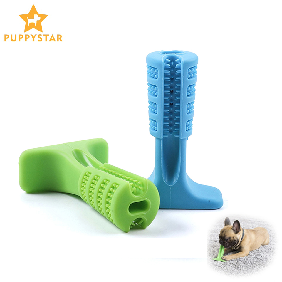 Dog Toothbrush Stick Dogs Chew Toys Pet Puppy Molar Tooth Cleaner Brushing Doggy Dental Care Puppies FS0001 image