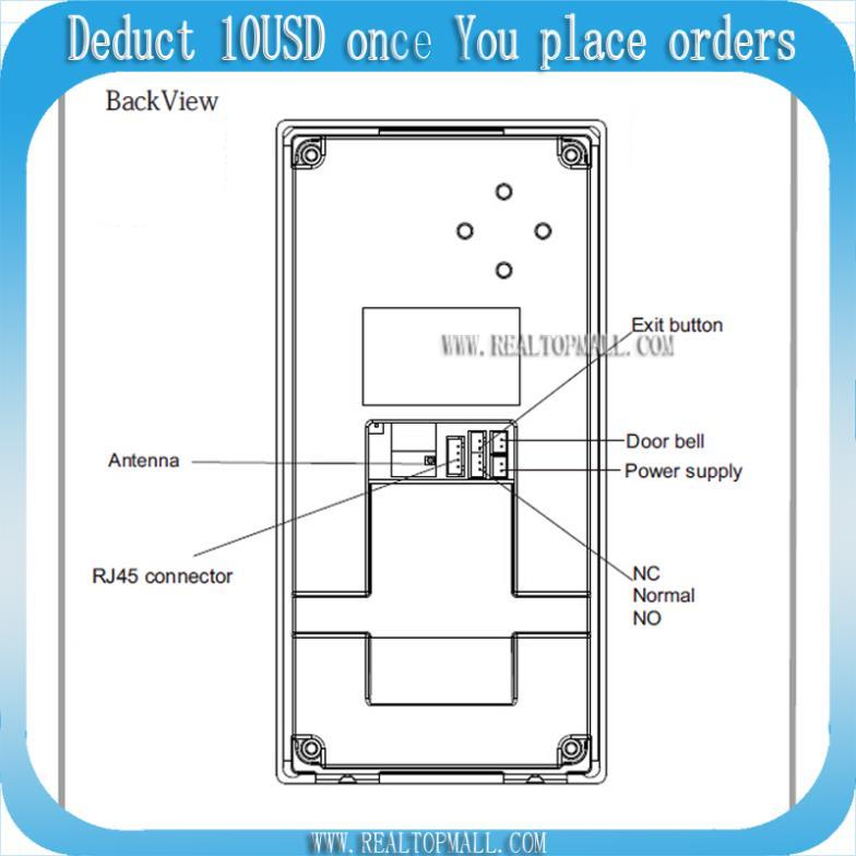 DIY Wireless Video Door Phone Wifi IP Video Door Phone Remote Door Access Unlocking  Doors Via IOS/Android Smartphone Tablets In Video Intercom From Security ...