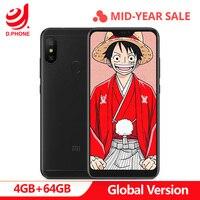 Оригинальная глобальная версия Xiaomi Mi A2 Lite 4 Гб 64 Гб 5,84