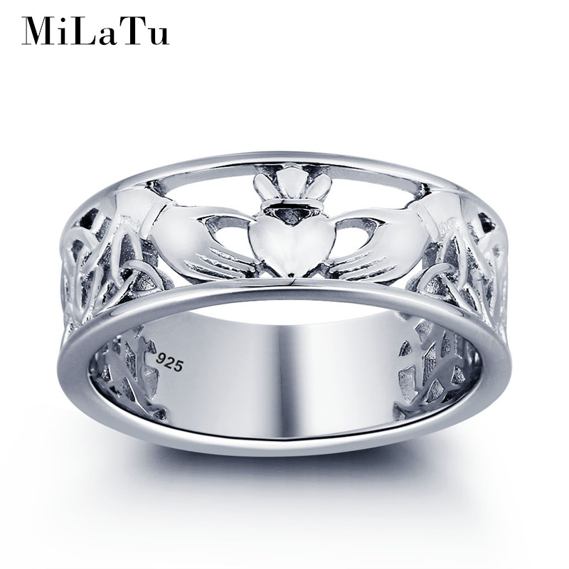 Bien connu Buy claddagh ring silver and get free shipping on AliExpress.com LW12