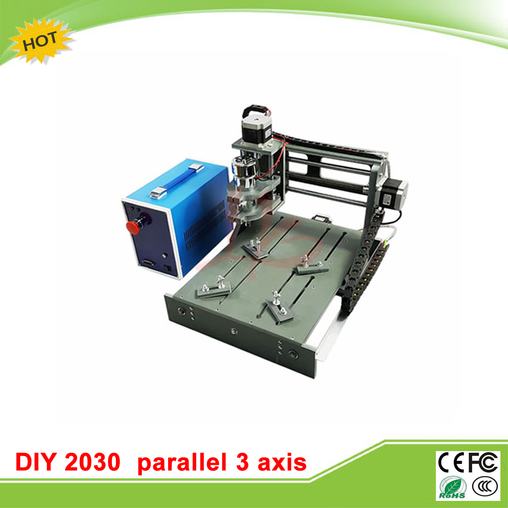 Free tax to EU newest mini cnc router price 2030 parallel port 3 axis cnc engrave machine 2016 newest cnc router 3040z dq usb port cnc cutting machine cnc engrave machine