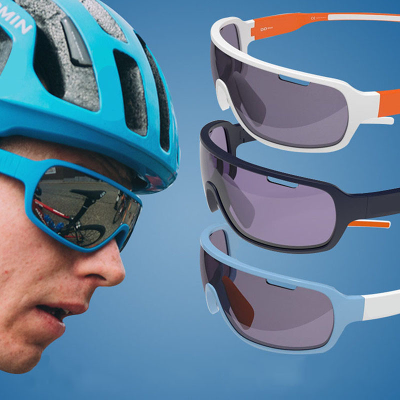 Cycling Sunglasses Bicycle Bike Riding Outdoor Sports Cycling Sunglasses Cycling Eyewear 4 Lens Bike Glasses