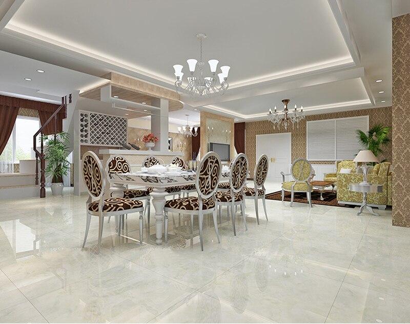 Foshan ceramic tiles white microcry stalline stone floor for New wall tiles 2016
