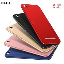 Triseoly чехол для Xiaomi Redmi 4A простой роскошный высококачественный Жесткий ПК чехол для Xiaomi Redmi 4A
