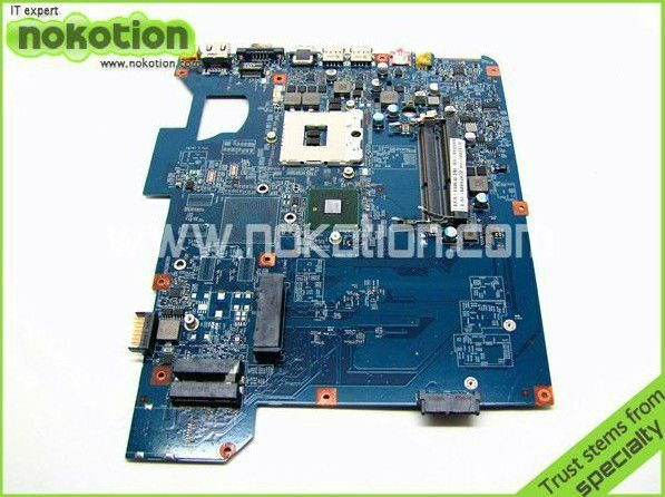 NOKOTION Laptop Motherboard for GATEWAY NV59 SJV50-CP 09284-11M 48.4GH01.01M Intel HM55 i3 Mother boards full tested