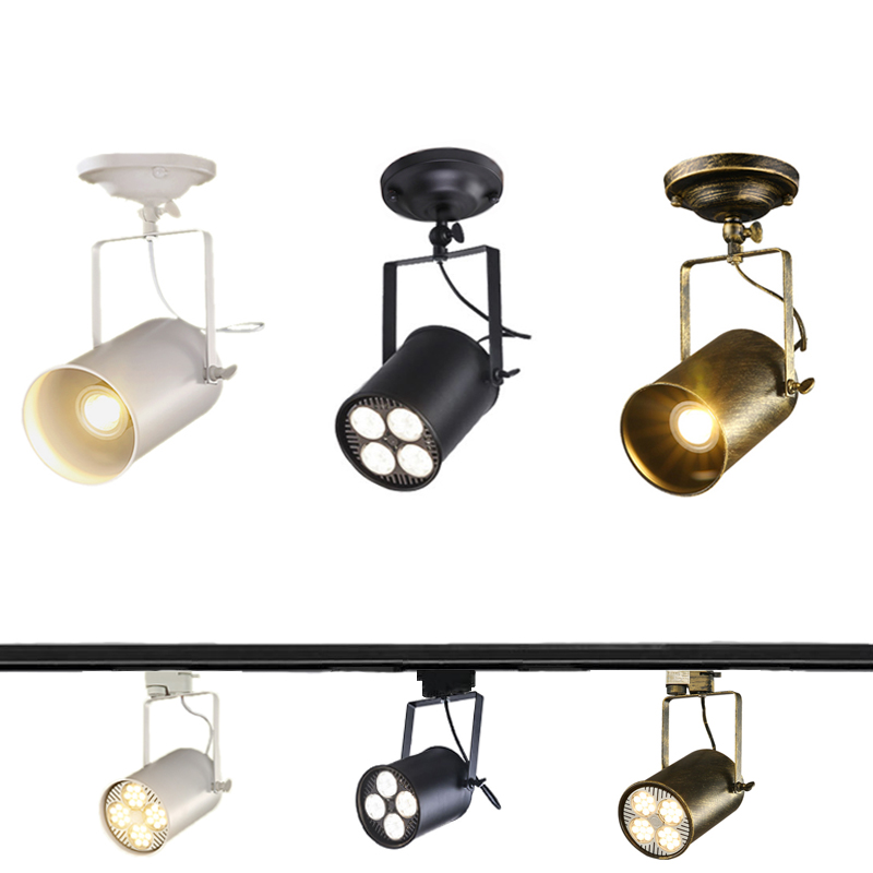 American Industrial Retro Loft Ceiling Lamp Creative Study Cafe Restaurant Pub Cloth Shop Store Bar Living Room Ceiling Lights