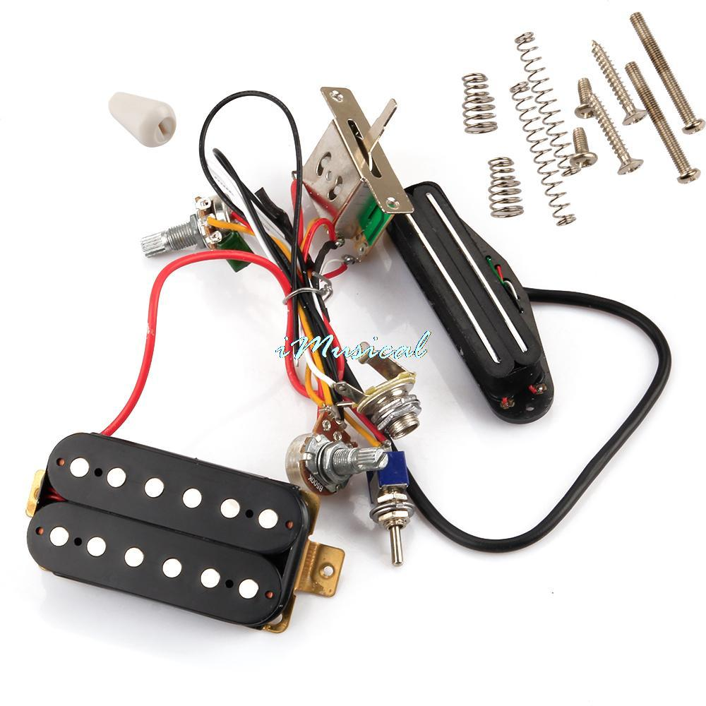 New Circuit Wiring Harness W  Humbucker Pickup For Sgr Lpl Tl Electric Guitar
