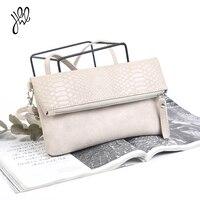 المرأة حقيبة العلامة التجارية 2017 جديد وصول أكياس الأزياء بو الجلود براثن يوم أضعاف الكتف حقيبة التمساح مكافحة سرقة حقيبة 510048