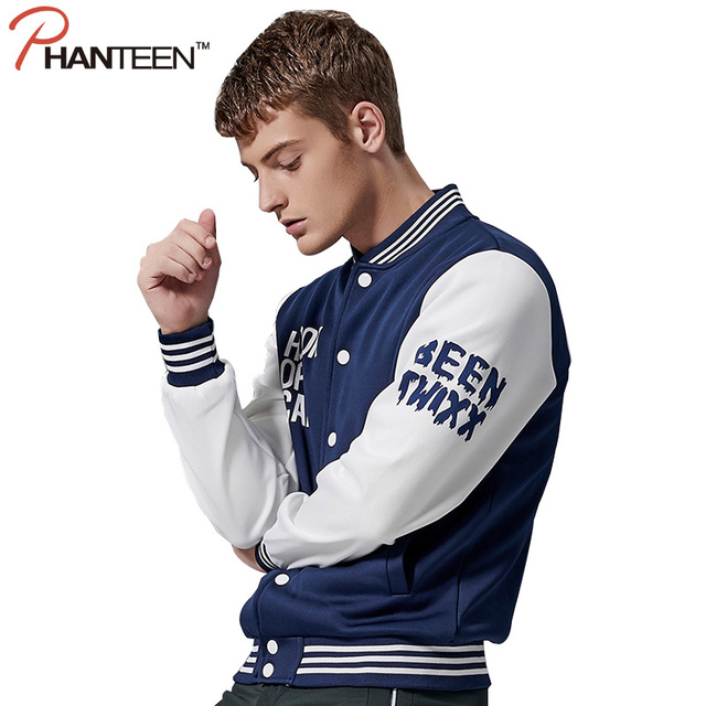 Autumn Long Sleeve Couple Jackets Letter Printed Patchwork Man Coats Casual Hoodie Cardigan Fashion Men Clothing