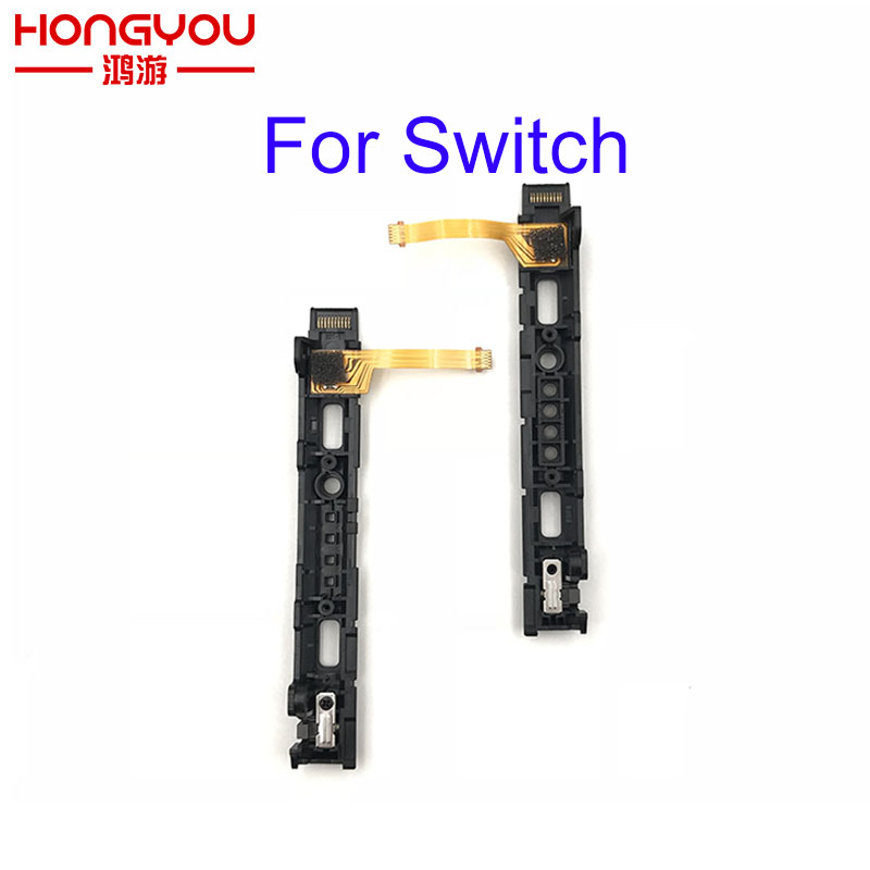 original Used Left Right track Slider Flex Cable Strip For NS Nintendo Switch Joy-Con Parts L R Switch Middle Button Holder