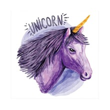 Laeacco Unicorn Words Baby Children Comic Celebration Party Scene Photographic Backgrounds Photography Backdrop For Photo Studio