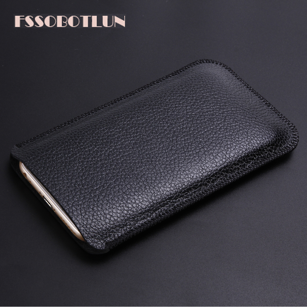 For General Mobile GM 5 Plus super slim sleeve pouch cover,Luxury Microfiber Leather case General Mobile GM5 Plus 5.5 Phone bag image