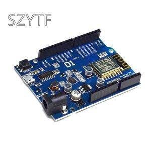 Image 1 - CH340 D1 CH340G WiFi Carte de Développement 3.3v 5v 1A ESP8266 ESP 12 ESP 12E Module Pour Arduino