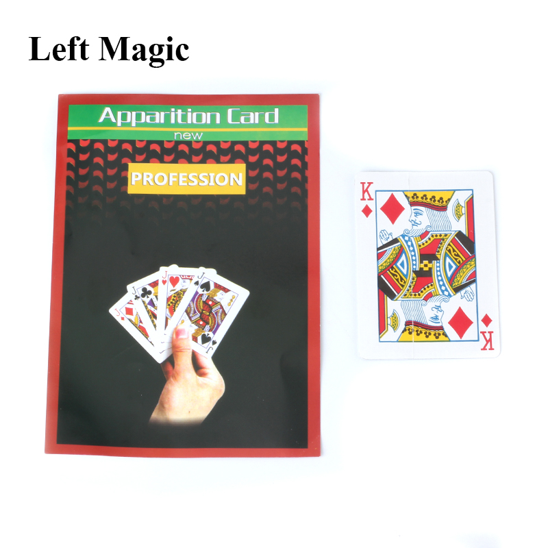 In-Air Change Face In 0.1 Sec Card - Close Up Magic Tricks  Magic Props Gimmick Stage Mentalism Street Comedy