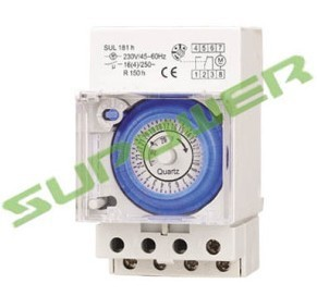 Ce Sul181h 24 Hour 12v Mechanical Timer Time Relay Switch