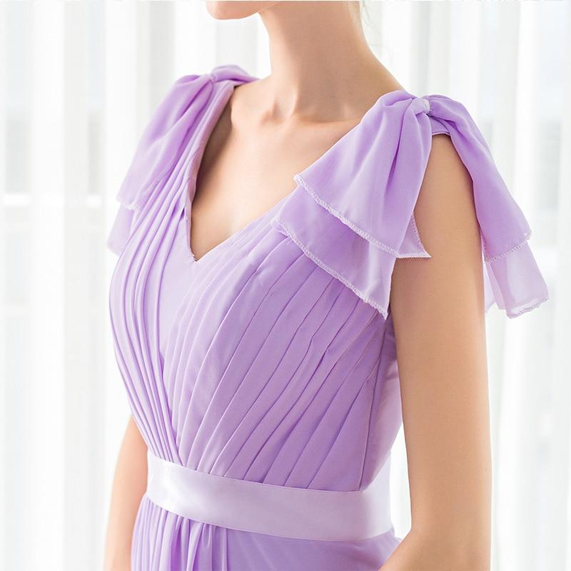 Bonito Vestidos De Dama De Honor De Lavanda Barato Cresta - Ideas de ...