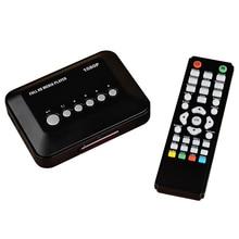 Новинка 2015 Full HD медиаплеер мини 1080 P мультимедийный плеер мини HD Media Box Поддержка HD USB SD/MMC С розничной Вышивка Крестом Пакет