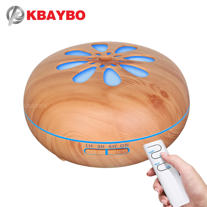 KBAYBO Air humidifier aromatherapy cool mist coolair essential oil diffuser led lights for home aroma ultrasonic humidifier 550ml air humidifier aromatherapy cool mist coolair essential oil diffuser led lights for home aroma ultrasonic humidifier