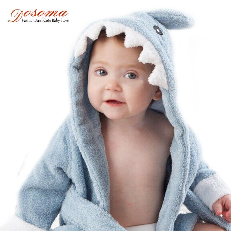 Purposeful 2017 New Baby Bathrobe Children Kids Cartoon Baby Towel Bath Robe Baby Homewear Boys Girls Hooded Animal Modeling Baby Bathrobe Reliable Performance
