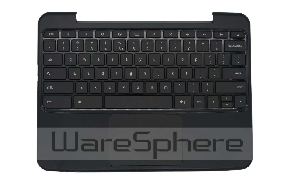 New Upper Case Top Cover with Keyboard for Samsung Chromebook XE500C21 BA75-03065G