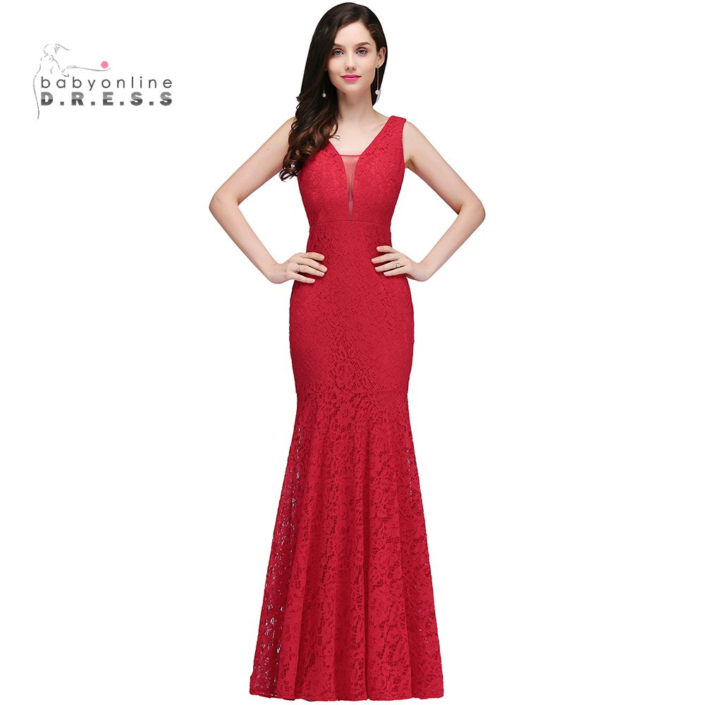 Popular bridesmaid dress red lace buy cheap bridesmaid dress red bridesmaid dress red lace ombrellifo Choice Image