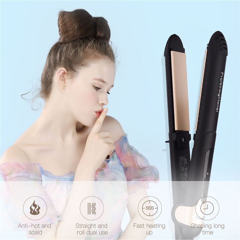 Fast Heating Electric Hair Straightener 3D Floating
