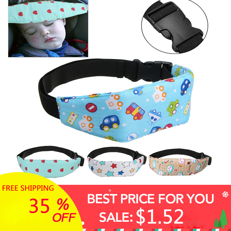 Baby Infant Auto Car Seat Support Belt Safety Sleep Aid