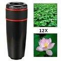 12x lente da câmera do telefone kit foco manual lente do telescópio para o iphone 6/6 s plus/5S, samsung galaxy s7/s6 edge/s5, nota 5/4 12X