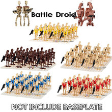 16PCS/LOT Legoings Building Blocks Bricks Star Wars Rogue One Combat Robot Super Battle Droid starwars figures gift Toy Children(China)