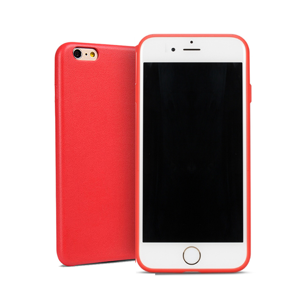 buy online 0350c f8136 US $1.99 |Ultra Slim Fashion Cute Cover for iPhone 6 6S Plus Case Red  Silicone TPU Matte red Soft Back Cover for iPhone 6S 6 Case girls-in Fitted  ...