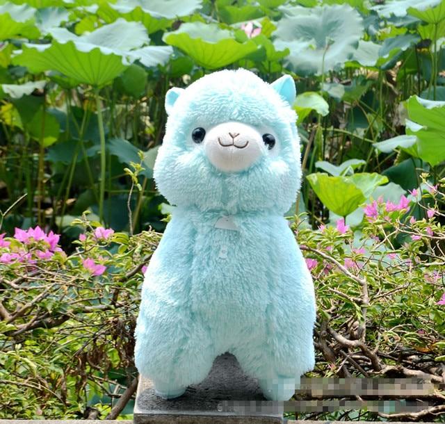 Big Size 45cm Japanese Alpacasso Soft Toys Doll Kawaii Sheep Alpaca Plush Toys  Giant Stuffed Animals Toy Kids Christmas Gift