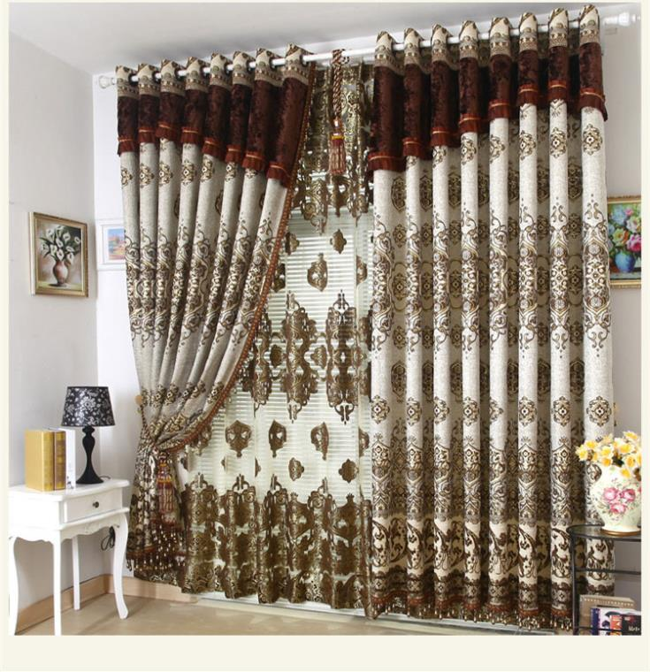 Decorative window curtain villa curtains living room bedroom Blind curtains  for window 3 * 2.6m free shipping