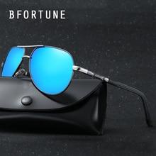 BFORTUNE Piloto gafas de Sol Polarizadas de La Vendimia de Los Hombres Marca Diseñador Shades Retro Gafas de Sol Clásicas Gafas de Sol Gafas Masculino