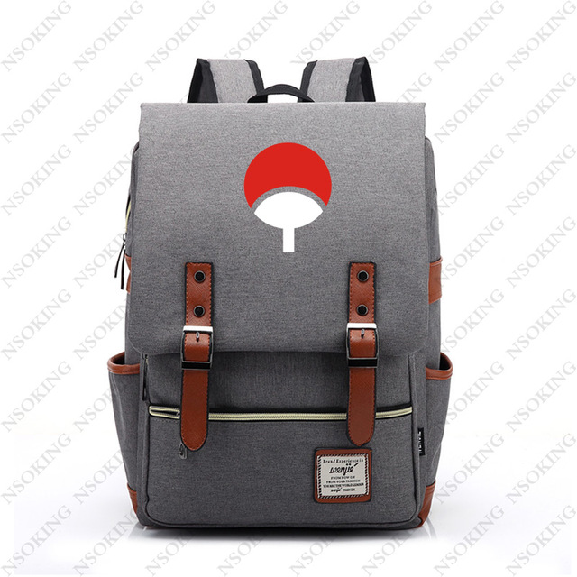 Naruto Backpack New Personalized Anime Student School Canvas Bag Fashion  Men Women vintage Travel Backpacks a7528f64855a4