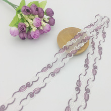 5Yard / Lot Handmade DIY киім аксессуарлары Түстер Кескіндеме Кружевой мата Сөрелер Sofa Lace Trim таспасы 3.2cm