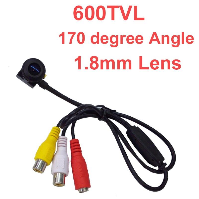 600 TV line mini camera 960 pixel 1.8mm 170 degree wide angel lens Sony sensor CCTV camera w/ MIC. 1/4 HD sensor 600 tvl camera