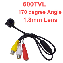 600 TV line mini camera 960 pixel 1.8mm 170 degree wide angel lens Sony sensor CCTV camera w/ MIC. 1/4 HD sensor 600 tvl camera