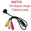 600 linhas de tv mini câmera 960 pixel 1.8mm 170 graus grande anjo lente sony sensor cctv camera w/mic. 1/4 HD sensor 600 tvl câmera