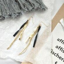 2019 Vintage Long Metal Tassel Earrings Fashion Drop Dangle For Women Jewelry Accessories Bohemian Bijoux