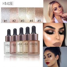 KIMUSE Face Makeup Highlighter Liquid Make Up Highlighter Bronzers Cream Concealer Shimmer Face Glow Ultra-concentrated Products