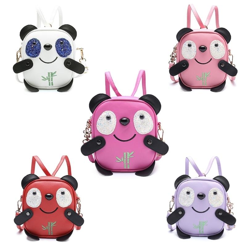 Origineel Kind Cartoon Leuke Rugzak Panda Mini Rugzak Crossbody Schoudertas Voor Kinderen Meisjes Kids School Tassen Laatste Stijl