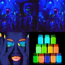 New 20ml UV Glow Neon Face Body Paint Fluorescent Bright Fluo Irradiate luminescent Party Festival Decoration Party Makeup H7JP1