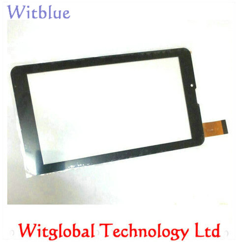 цена Tempered Glass / New Touch screen Panel Digitizer For 7 Texet TM-7876 TM 7876 X-pad QUAD 7 3G Tablet Glass Sensor Replacement